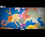 Watch as 1000 years of European borders change timelapse map