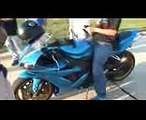 Turbo GSXR 1000 vs Nitrous GSXR 1000. R1 vs GSXR 1000 ($$ RACES)