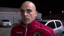 Le portier du Mans Jérémie Janot après le revers de sa formation face au FC Istres
