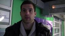 Le portier Slovéne du FC Istres Denis Petric