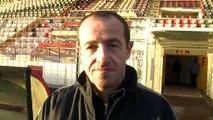 La réaction de Mathias Lozano aprés la victoire du FCM  cet après-midi à Turcan