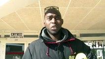 Mamadou Dia avant le déplacement à St Quentin