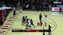 NCAA Basketball. Indiana Hoosiers - Arkansas State Red Wolves 22.11.17 (Part 1)