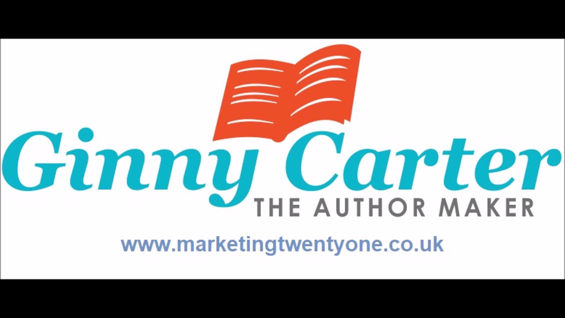 Business Book Ghostwriter UK Coach Ginny Carter