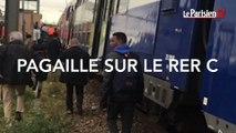 RER C : des voyageurs excédés descendent sur les voies