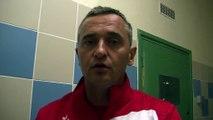 Le coach du FC Martigues Jean-Luc Vannuchi