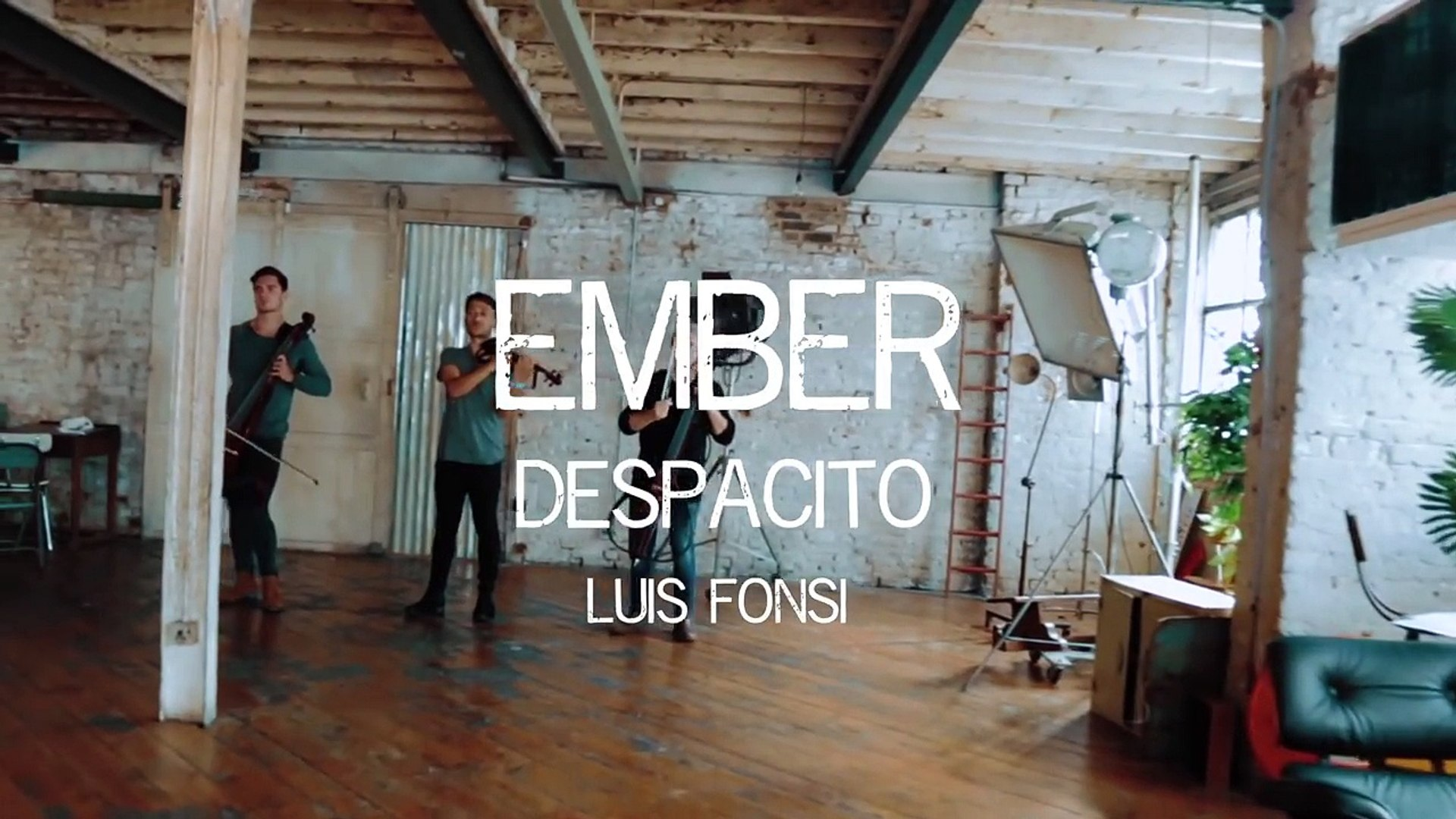 Ember - Despacito Luis Fonsi Violin and Cello Cover