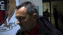 L'analyse d'après match avec le coach du FCM Jean-Luc Vannuchi