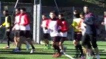 L'avant match Valence/FCM avec Jean-Luc Vannuchi et Florian Sotoca