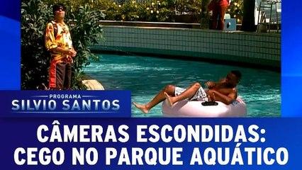 Câmeras Escondidas - Ceguinho no parque aquático