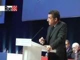 Sarkozy bombe le torse face aux grévistes