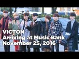 161125 VICTON (빅톤) arriving at Music Bank @Kpopmap