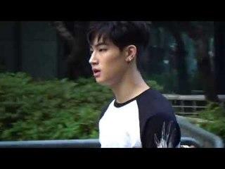 150717 GOT7 JB arriving at Music Bank @Kpopmap