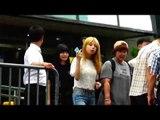 150821 JUNIEL arriving at Music Bank @Kpopmap
