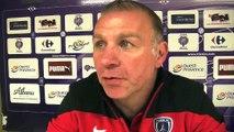 Les réactions des deux entraîneurs après FC Istres-Paris FC