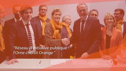 Réseau d'Initiative Publique, l'Orne choisit Orange