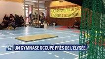 Assaut de Saint-Denis : toujours pas relogés, des anciens locataires de l'immeuble occupent un gymnase près de l'Elysée