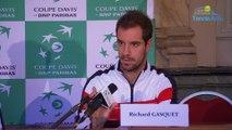 """Coupe Davis 2017 - FRA-BEL - Richard Gasquet : """"Je ne m'attendais à rien"""""""