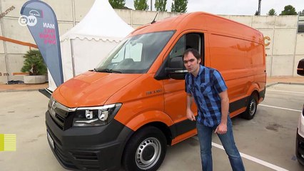 A la vista: MAN TGE furgoneta | Al volante