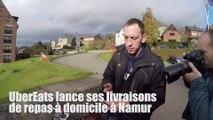 UberEats est désormais disponible à Namur