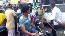 Indian police beat the hell out of protesting women ..