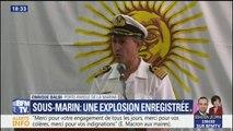 """Sous-marin argentin disparu: """"un événement anormal qui a toutes les caractéristiques d'une explosion"""""""