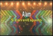 Darren Espanto Alam Karaoke Version