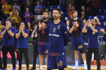 FC Barcelona Lassa and Juan Carlos Navarro celebrate 20 years together!