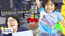 ROBLOX Heroes of Robloxia! Let's Play Family Game Night with Ryan's Family Review-9OEaAiXo3-o