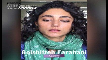 Golshifteh Farahani s'engage contre les violences faites aux femmes
