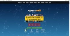 Review MYBETTERCOIN New ICO Lending Platform Program. [Link @description]