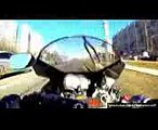 GoPro Suzuki GSXR 1000 - Motorcycle Accident  GSX-R 1000 Motorcycle Crash