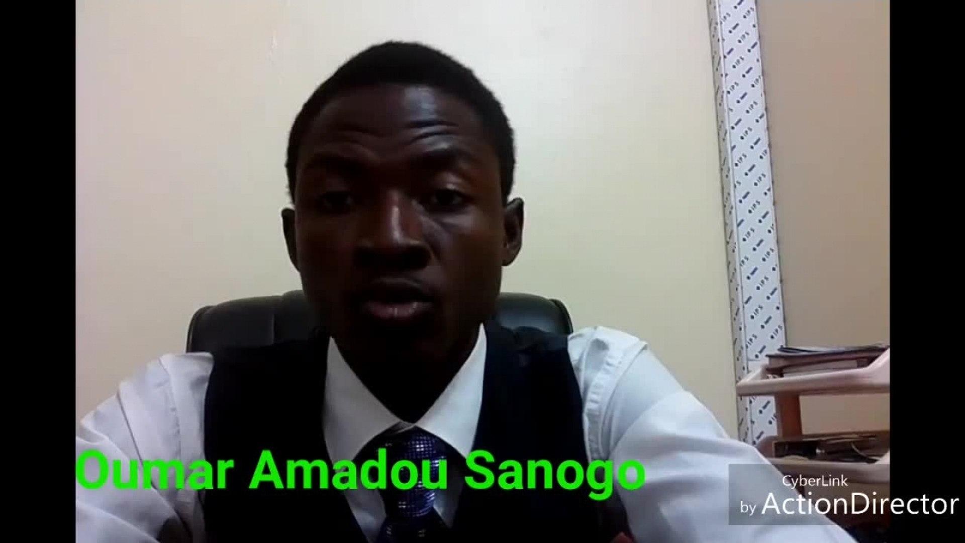 Oumar Amadou Sanogo - Réponse à djènè sogodogo et Dedeou Simaga !!!!!!
