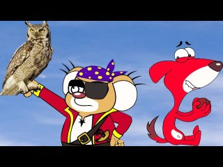 Rat-A-Tat |'Captain Jack Owl's Caribbean Pirates VS Beach Boys'| Chotoonz Kids Funny Cartoon Videos