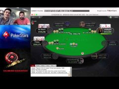 AA QQ JJ pre flop with Mike McDonald at WCOOP final table
