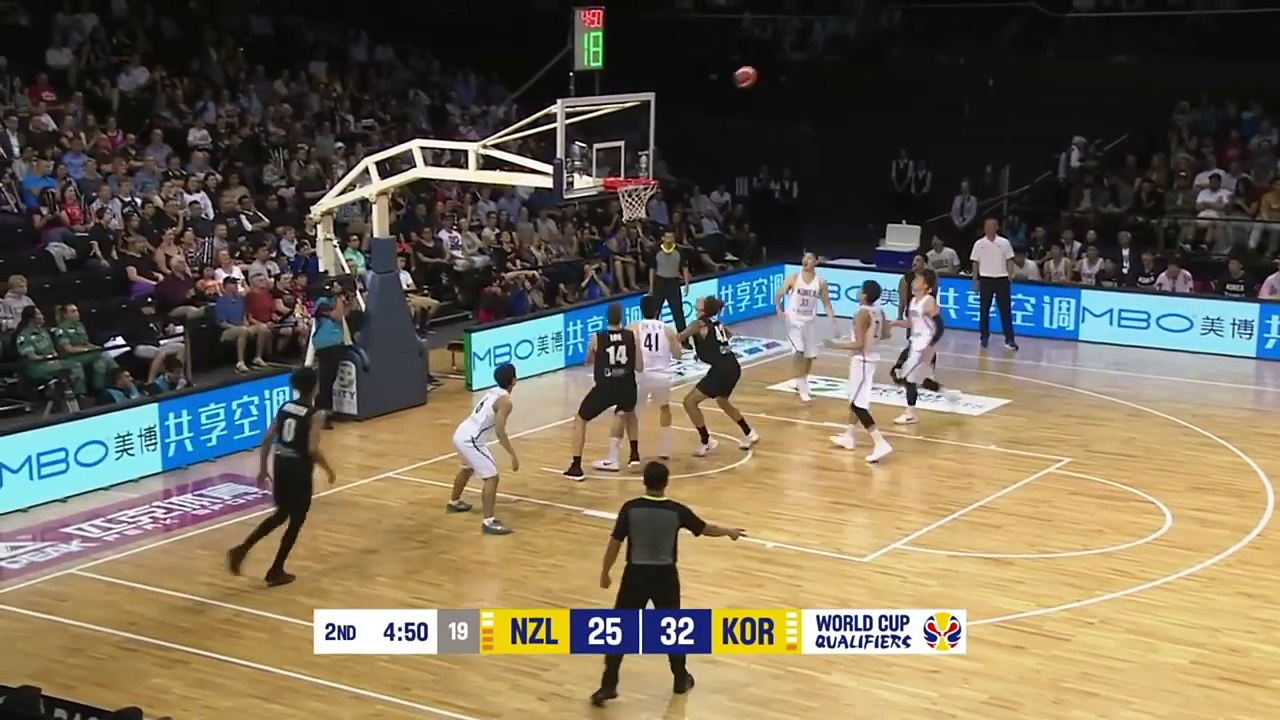 New Zealand vs Korea – Game Highlights – FIBA Basketball World Cup 2019 Asian Qualifiers