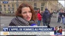"""Violences faites aux femmes: """"On n'attend pas que de la com'"""", disent des féministes à Macron"""