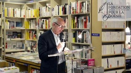 Discours de Jean-Pierre Lemaire (Prix 2017)