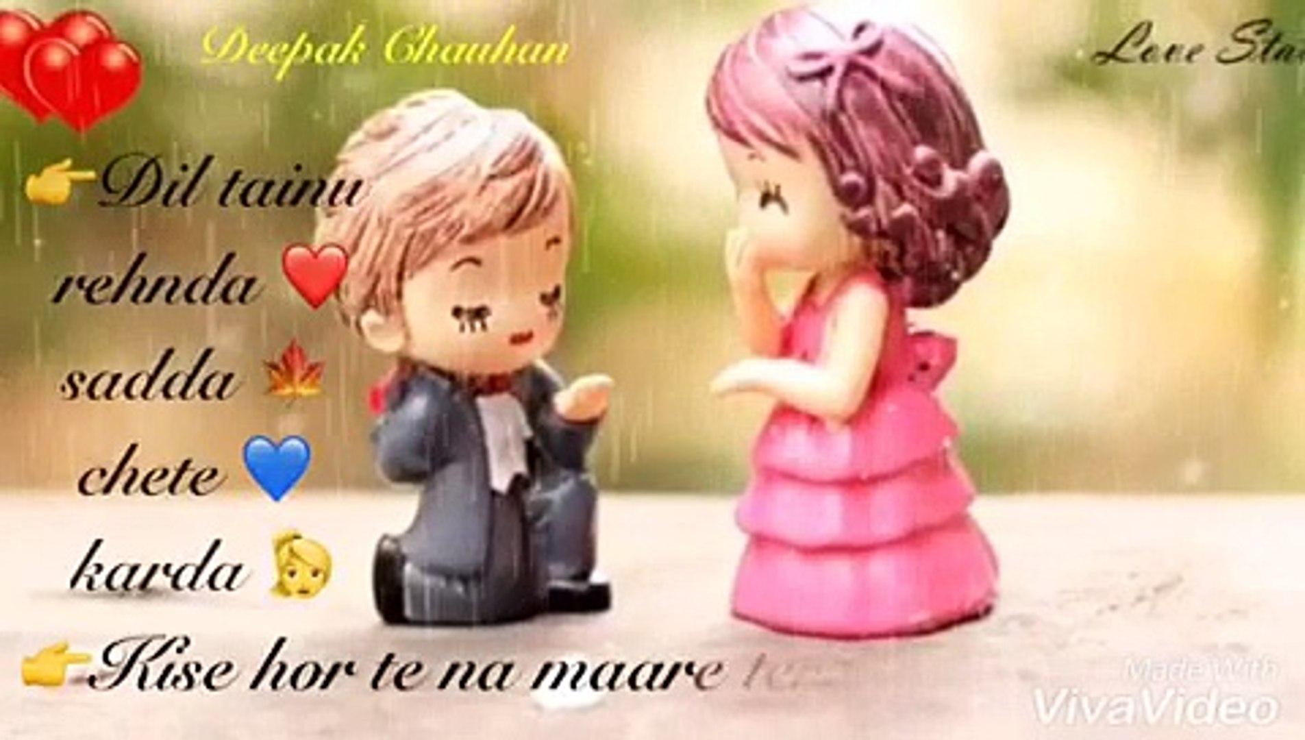 Whatsapp Status Video | Sad Love ❤️ Song | Punjabi Song Status || KHAAB ||  Akhil