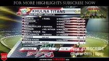 HIGHLIGHTS | Khulna vs Rangpur Highlights | BPL 2017 Match 25 | BPL 2017 Match 25 Highlights