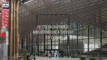 Cette incroyable bibliothèque vient d'ouvrir ses portes en Chine