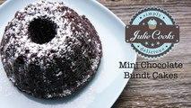 Mini Chocolate Bundt Cakes Recipe