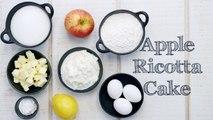 Apple Ricotta Cake Recipe