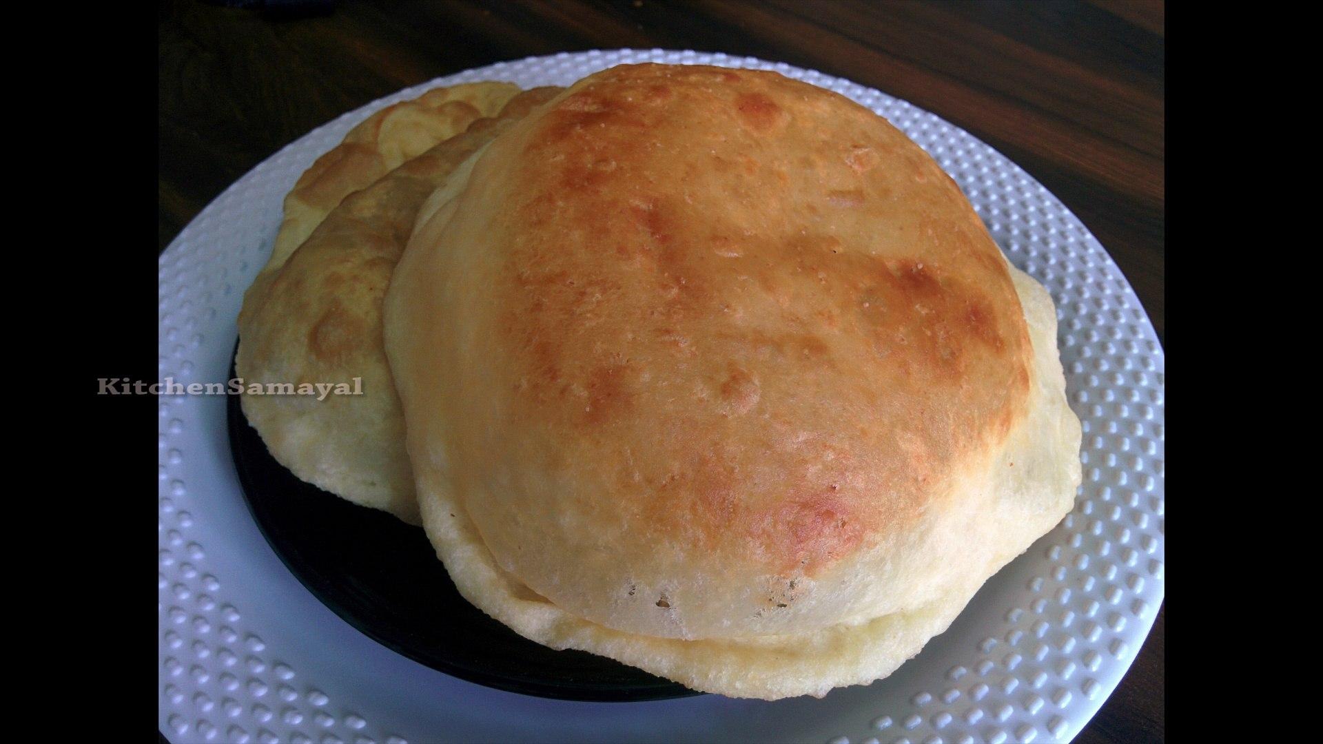 How to Make Chola Poori in tamil | Tasty | kitchen samayalli