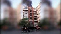 Una fallecida y varios heridos en el incendio de un edificio en Granada