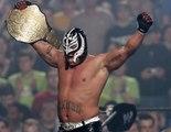 Rey Mysterio vs Randy Orton vs Kurt Angle - WrestleMania 22