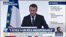 Le budget du ministère de l'Égalité entre les hommes et les femmes va être augmenté de 13%, annonce Emmanuel Macron