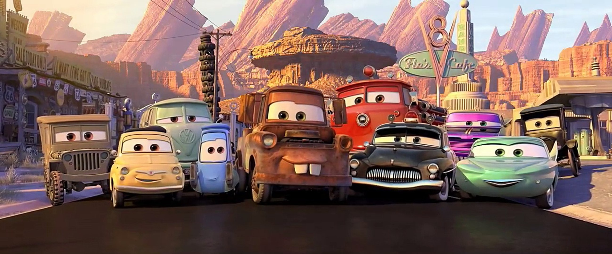 Cars 2006 Trailer Video Dailymotion