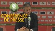 Conférence de presse Valenciennes FC - FC Lorient (4-2) : Réginald RAY (VAFC) - Mickaël LANDREAU (FCL) - 2017/2018