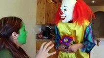 Hulk Girl vs Venom Girl vs Green Goblin vs Spiderman & Venom Food Fight Real Life Superhero Movie | Superheroes | Spiderman | Superman | Frozen Elsa | Joker